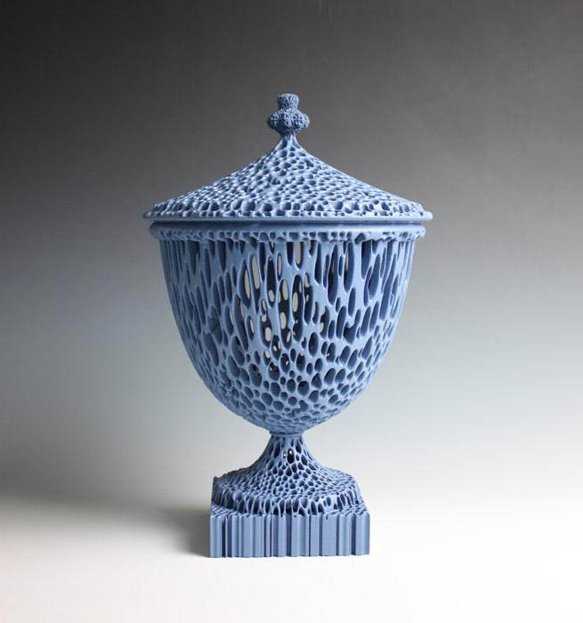 """The Wedgwoodn't Tureen"" in Blue."