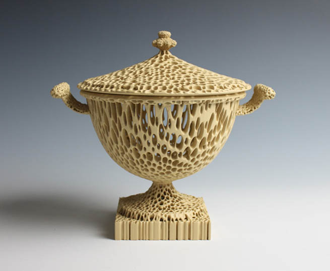 """The Wedgwoodn't Tureen"" in Tan."