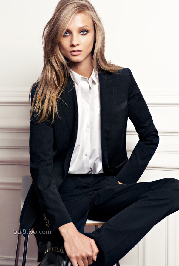 Anna Selezneva From the Mango 2012 Winter Collection