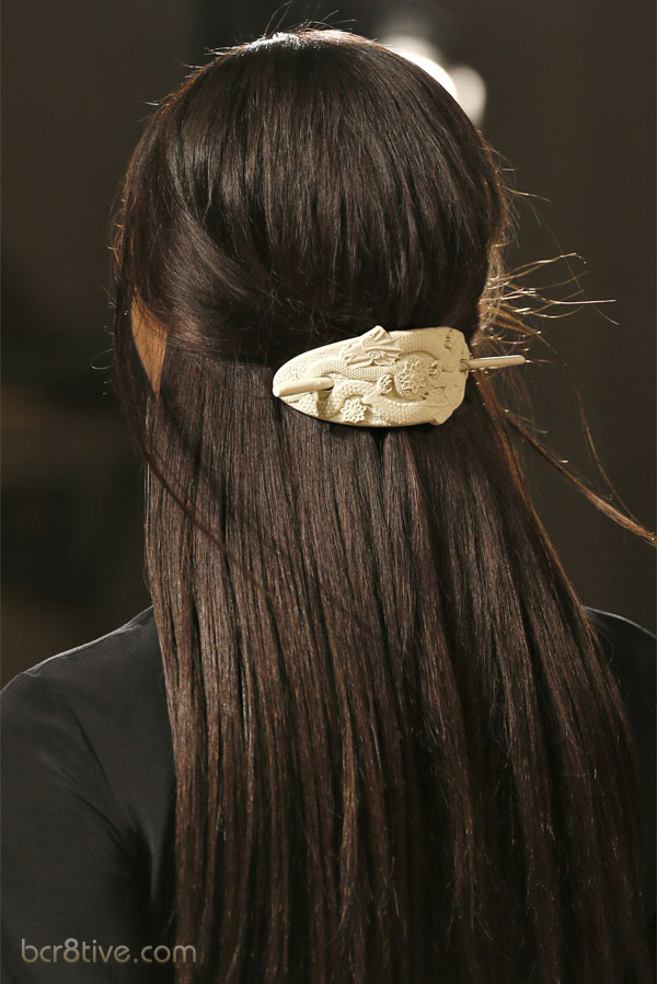 Emilio Pucci Spring Summer 2013 Ready-To-Wear Collection - Designer Hair Accessory