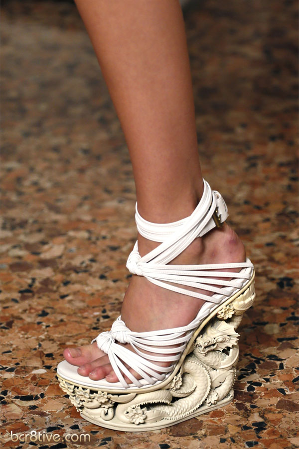 Emilio Pucci Spring Summer 2013 Ready-To-Wear Collection - Sculpted Wedge Heel