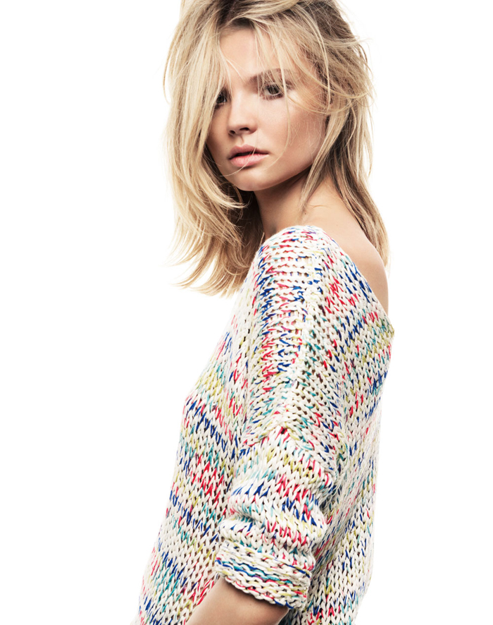 Magdalena Frackowiak- From the Mango 2012 Winter Collection