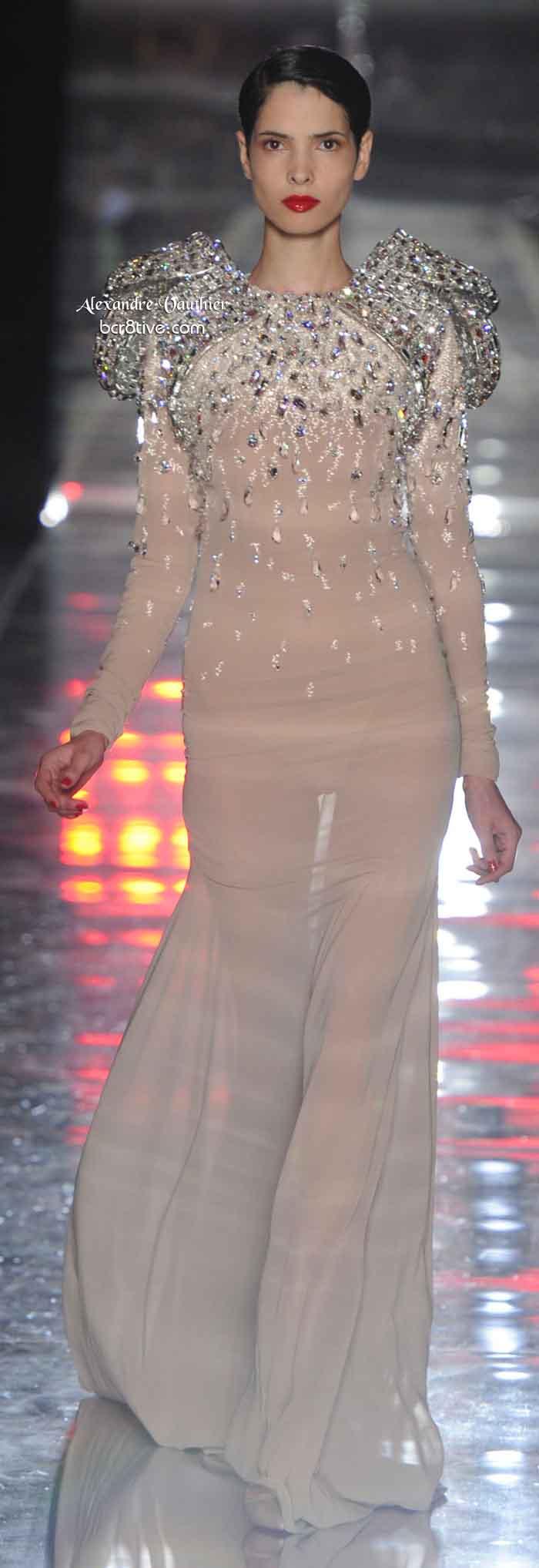 Alexandre Vauthier 2011-12 FW Haute Couture