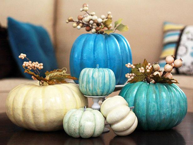 Blue Pumpkins by Landee Anderson