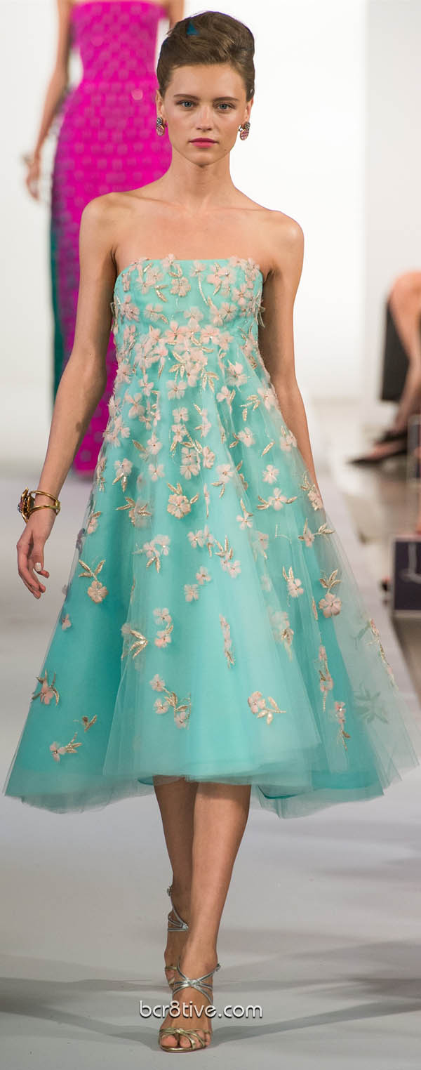 Oscar De La Renta Spring Summer Ready to Wear 2013