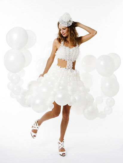 Daisy Balloons Bridal Fashion