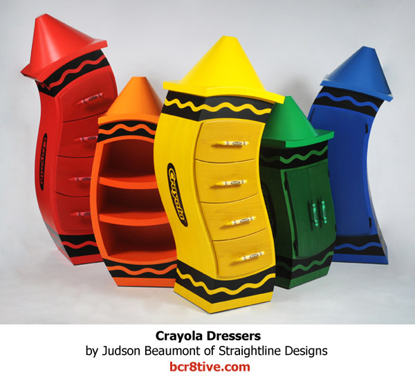 Judson Beaumont Furniture - Crayola Dressers