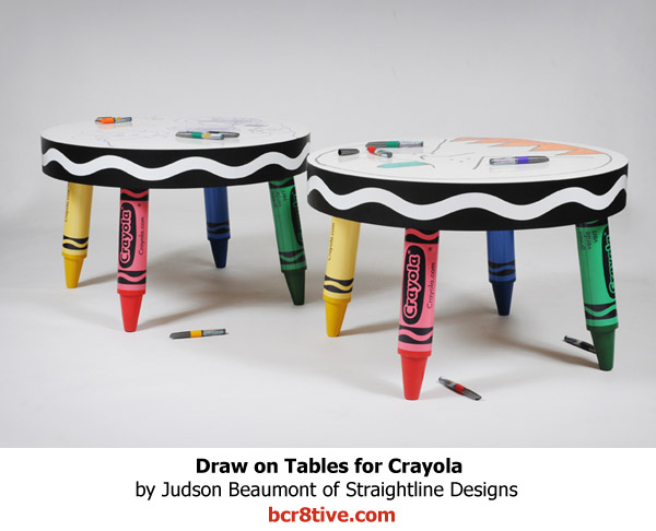 Judson Beaumont Furniture - Wiper Board Tables for Crayola