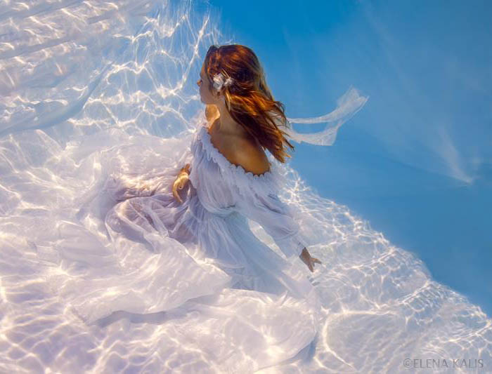 Elena Kalis Underwater Photography - White
