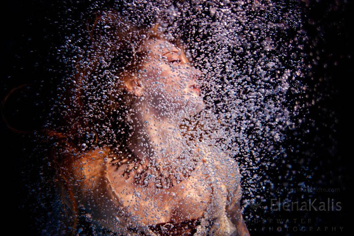 Elena Kalis Underwater Photography - Bubbles