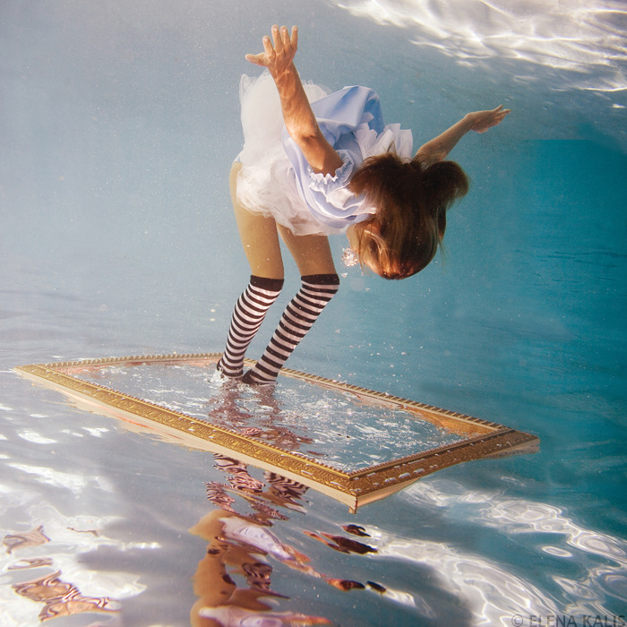 Elena Kalis Underwater Photographer - Alice in Wonderland