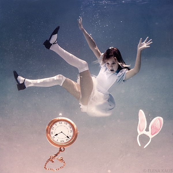 Elena Kalis Underwater Photography - Alice in Wonderland