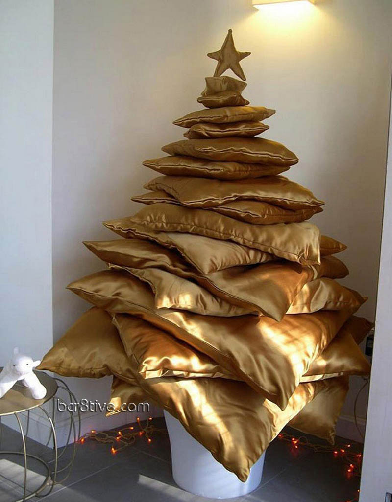 Gold Pillow Tree