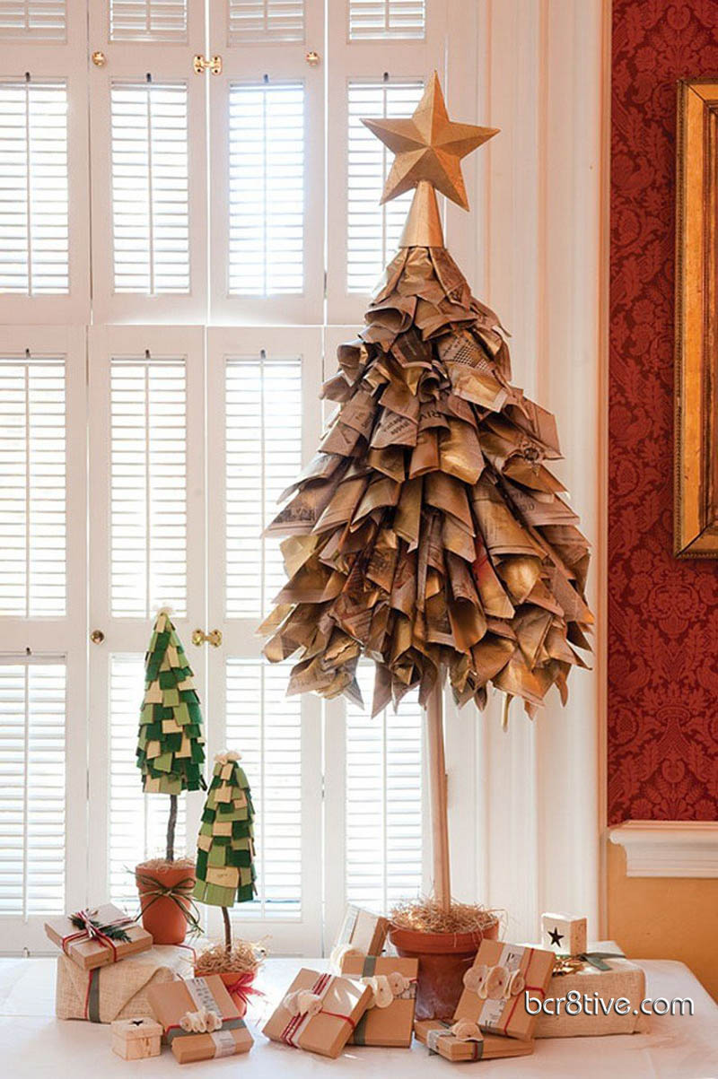 Do-it-Yourself Paper Christmas Tree