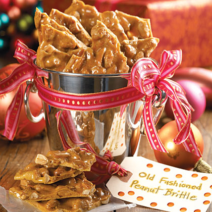 Home Made Microwave Peanut Brittle