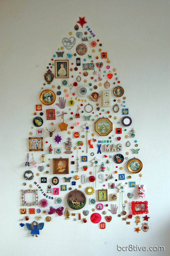 Wall Decor Collage Tree