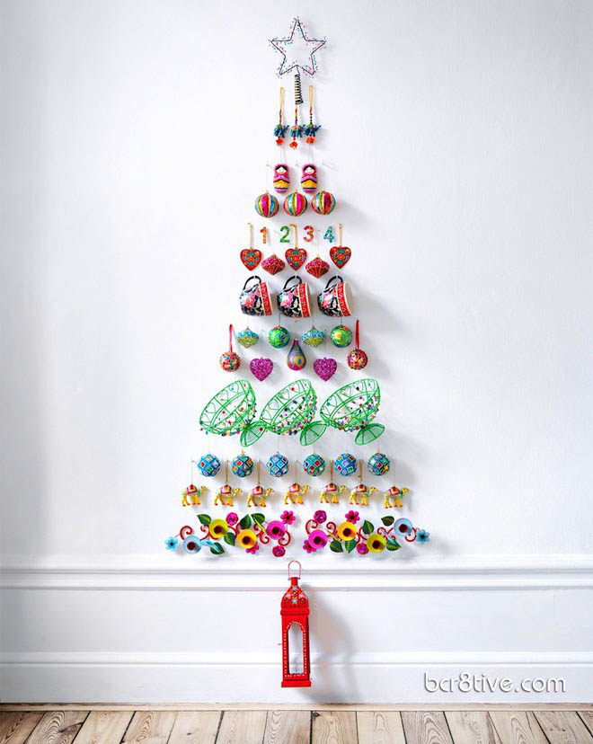 Wall Decor Christmas Tree