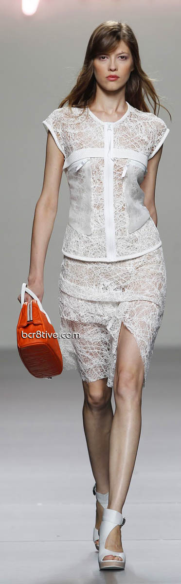 MBFW Adolpho Dominguez Spring Summer 2012