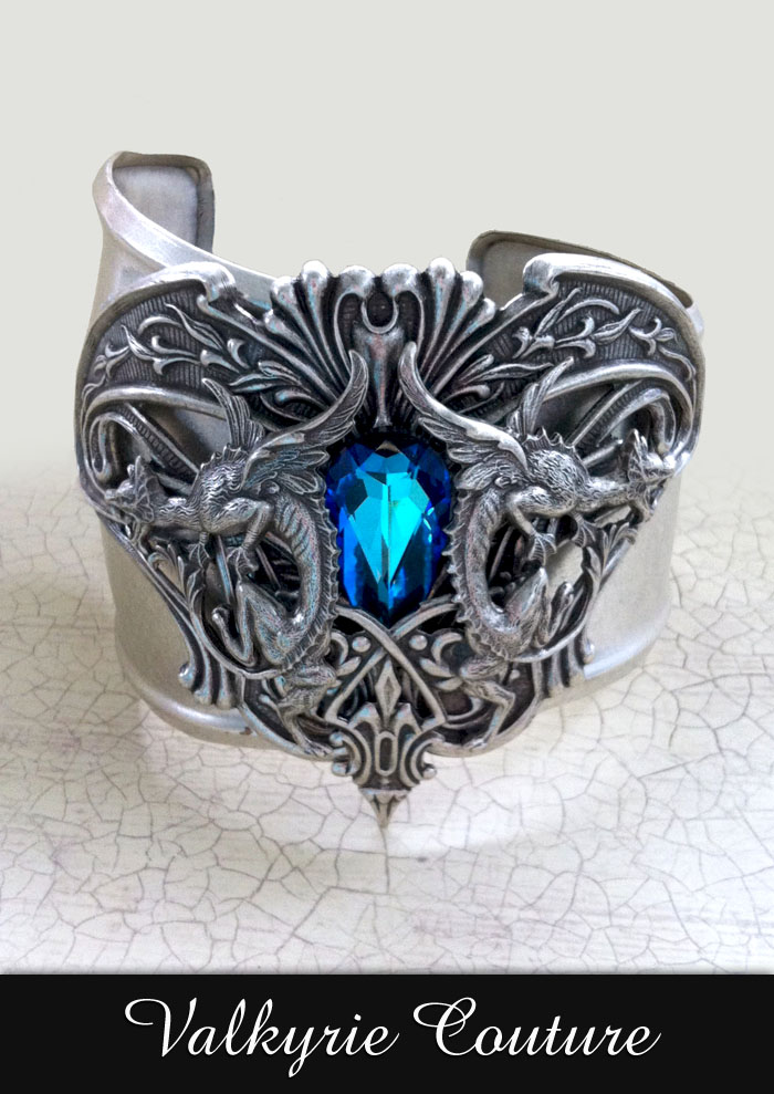 Atlantis Cuff by Valkyrie Couture