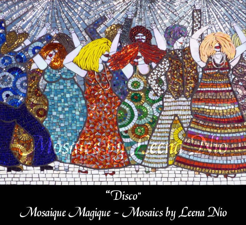 Mosaics by Leena Nio - Disco