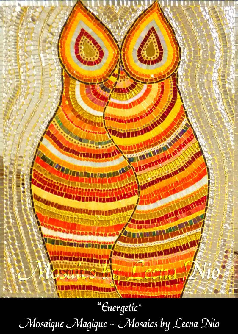 Mosaics by Leena Nio - Energetic