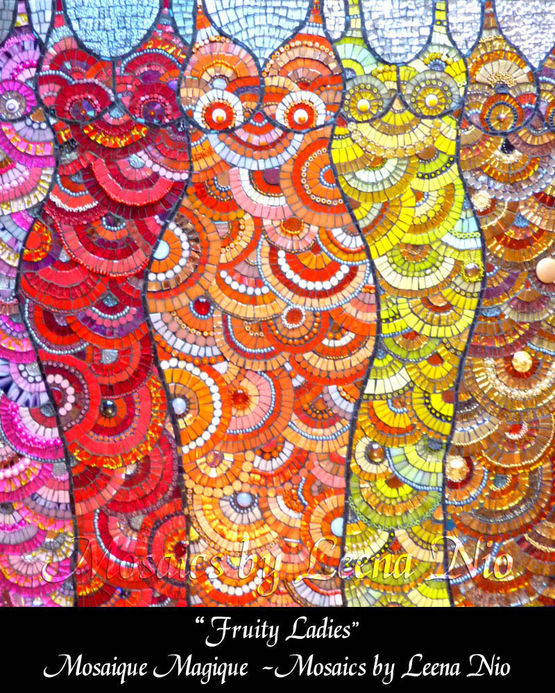 Mosaics by Leena Nio - Fruity Ladies