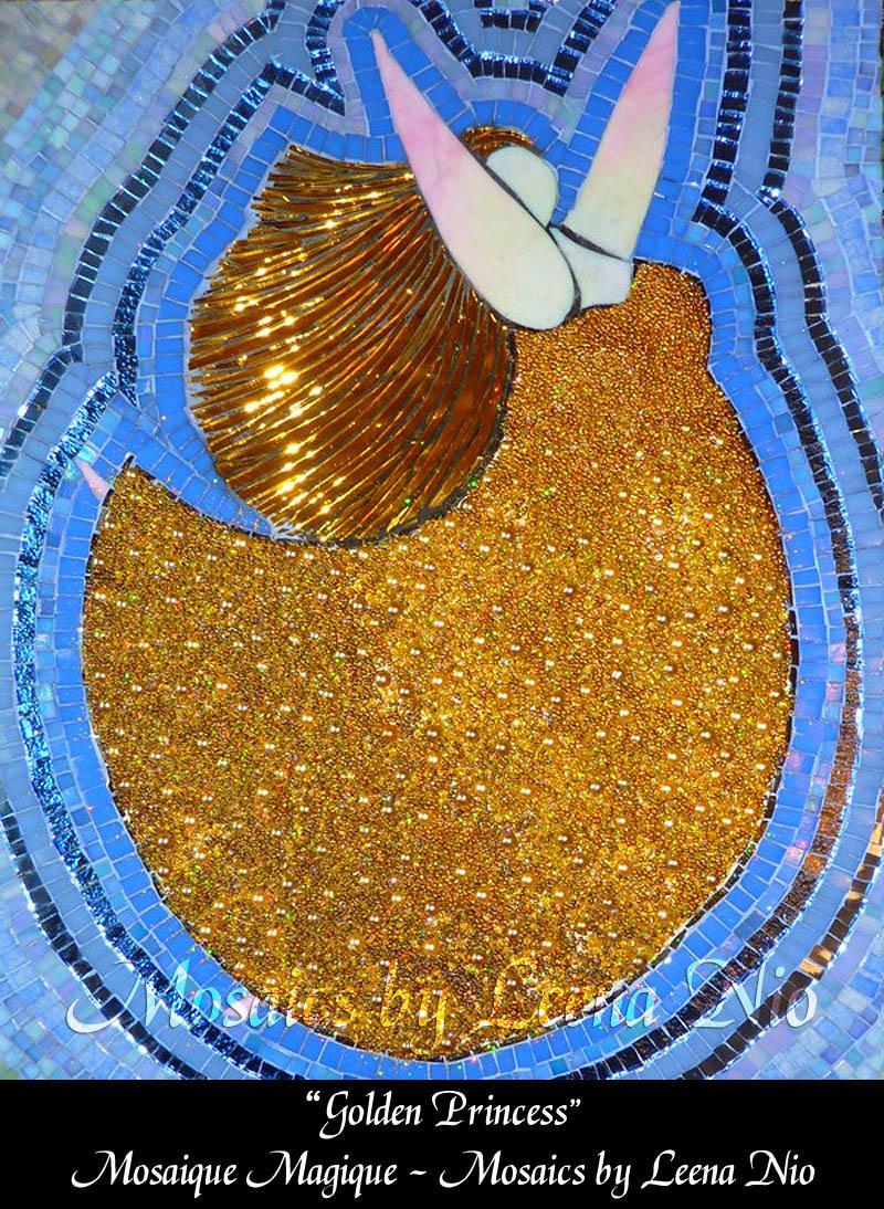 Mosaics by Leena Nio - Golden Princess