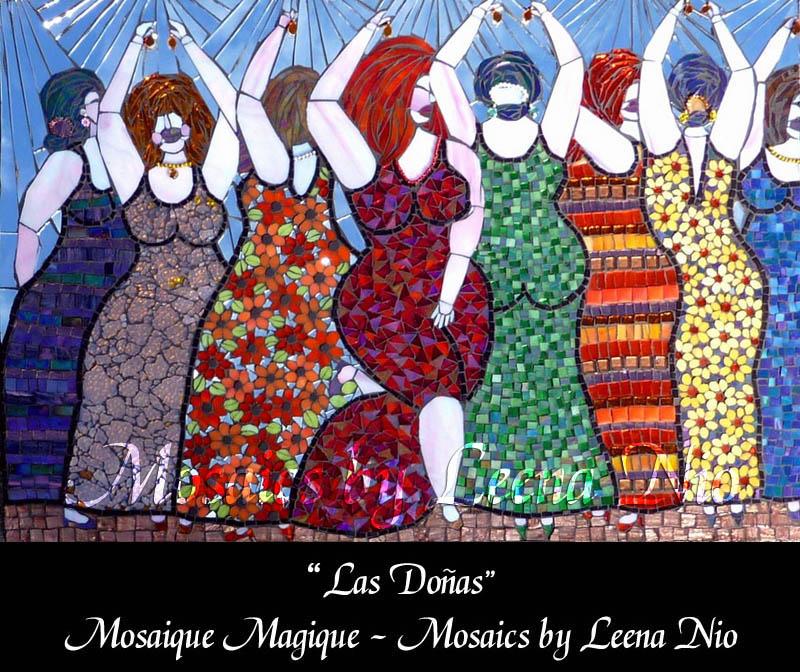 Mosaics by Leena Nio - Las Donas