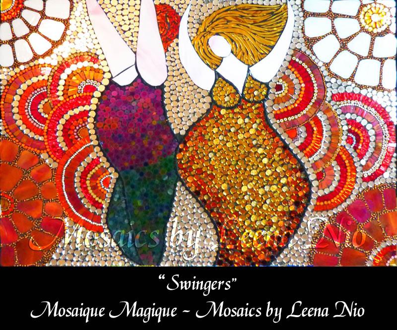 Mosaics by Leena Nio - Swingers