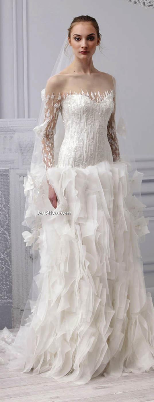 Monique Lhuillier Wedding Gowns