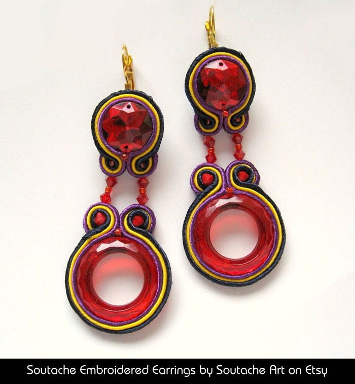 Soutache Art on Etsy http://www.etsy.com/shop/SoutacheArt