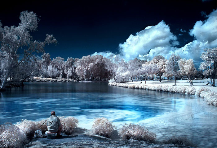 The Fisherman - Infrared Tutorial by Roie Galitz