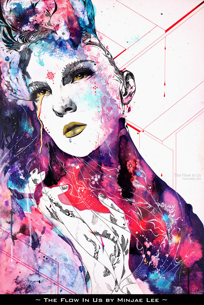 The Flow is in Us by Minjae Lee