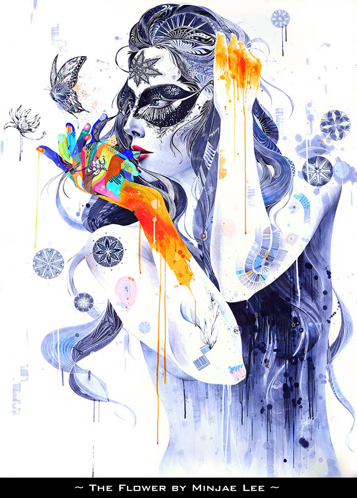 The Flower by Minjae Lee