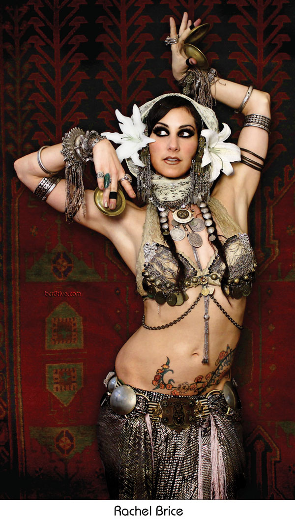 Tribal Fusion Belly Dancer - Rachel Brice