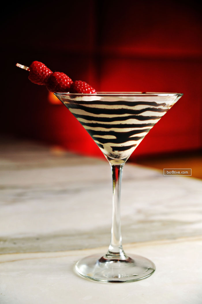 Temptation - Chocolate Martini Reipe from the Tabu Ultra Lounge, Las Vegas