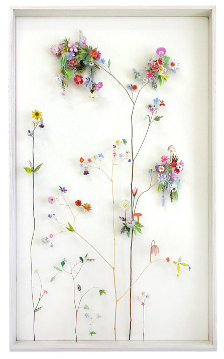 3D Botanical Flower Constructions by Anne Ten Donkelaar - Flower construction #12