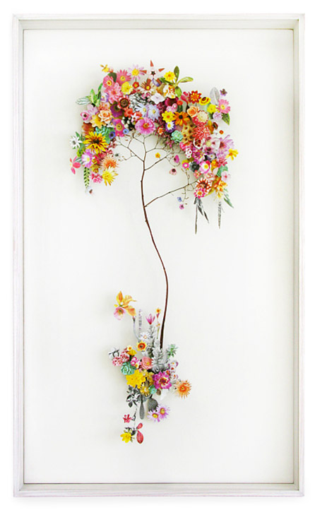 3D Botanical Flower Constructions by Anne Ten Donkelaar - Flower construction #13