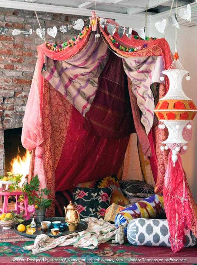 Love Fort designed by Justina Blakeney of justinablakeney.com