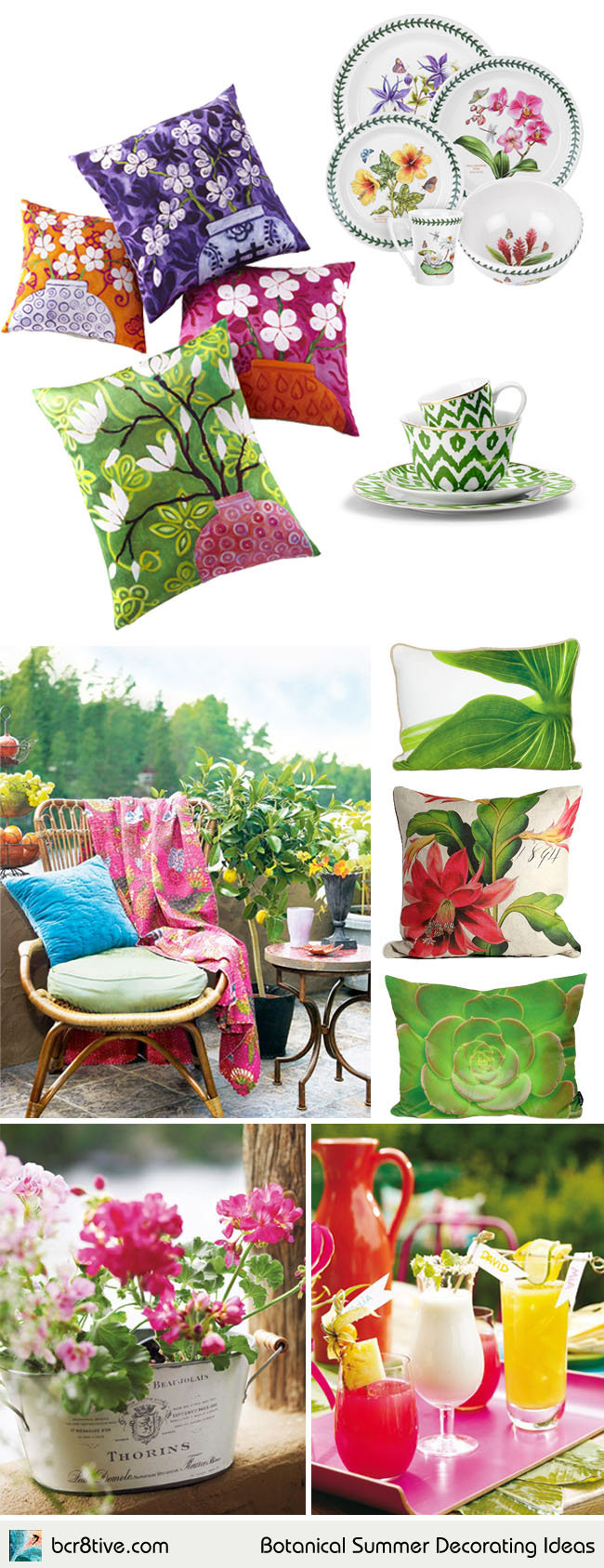 Botanical Summer Decorating Ideas