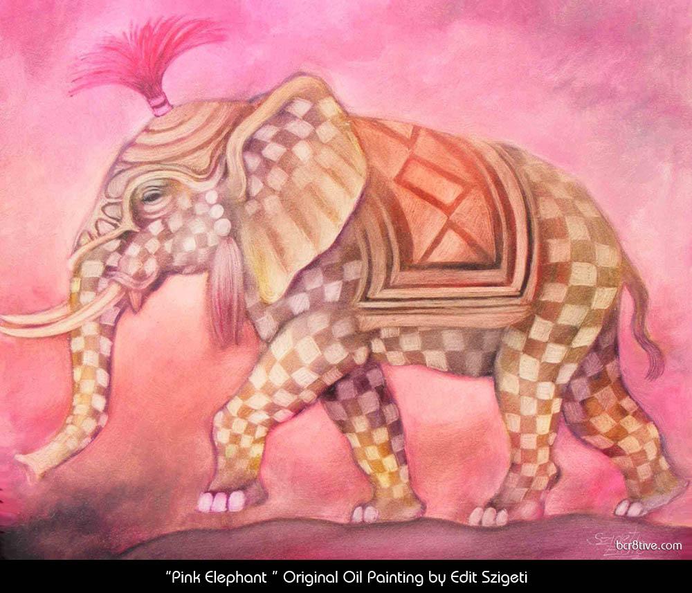 "Edit Szigeti's ""Pink Elephant"""
