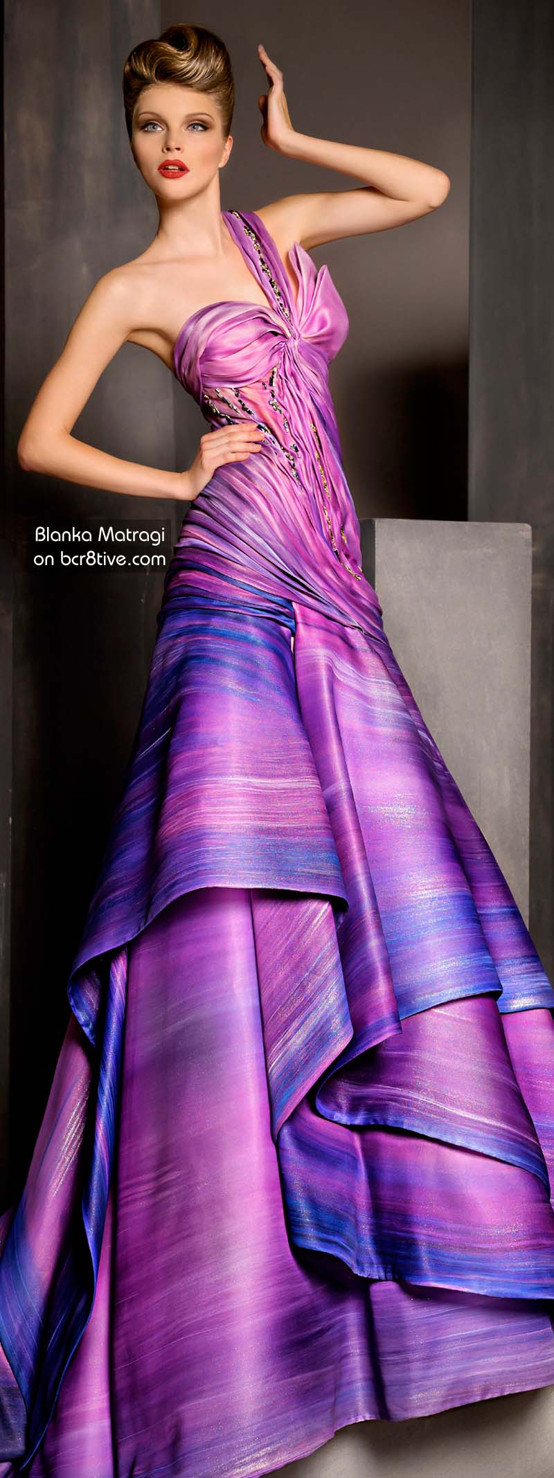 The Versatile Talents of Artisan Blanka Matragi » Blanka Matragi 30th Anniversary Couture Collection