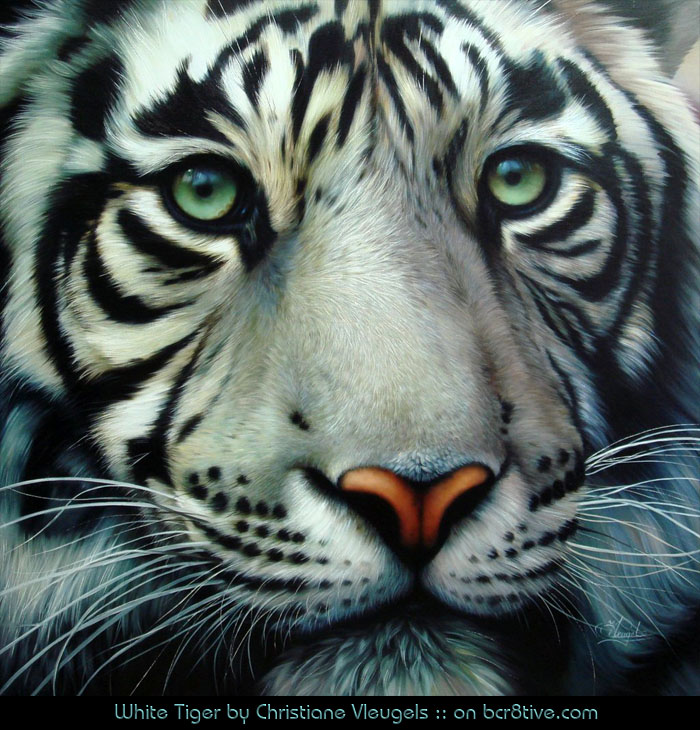 "Christiane Vleugels ""White Tiger"""