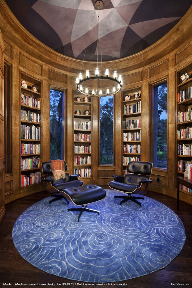 JAUREGUI Architecture, Interiors & Construction - Contemporary Home Office