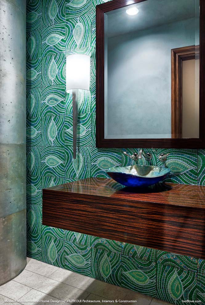 JAUREGUI Architecture, Interiors & Construction - Powder Room