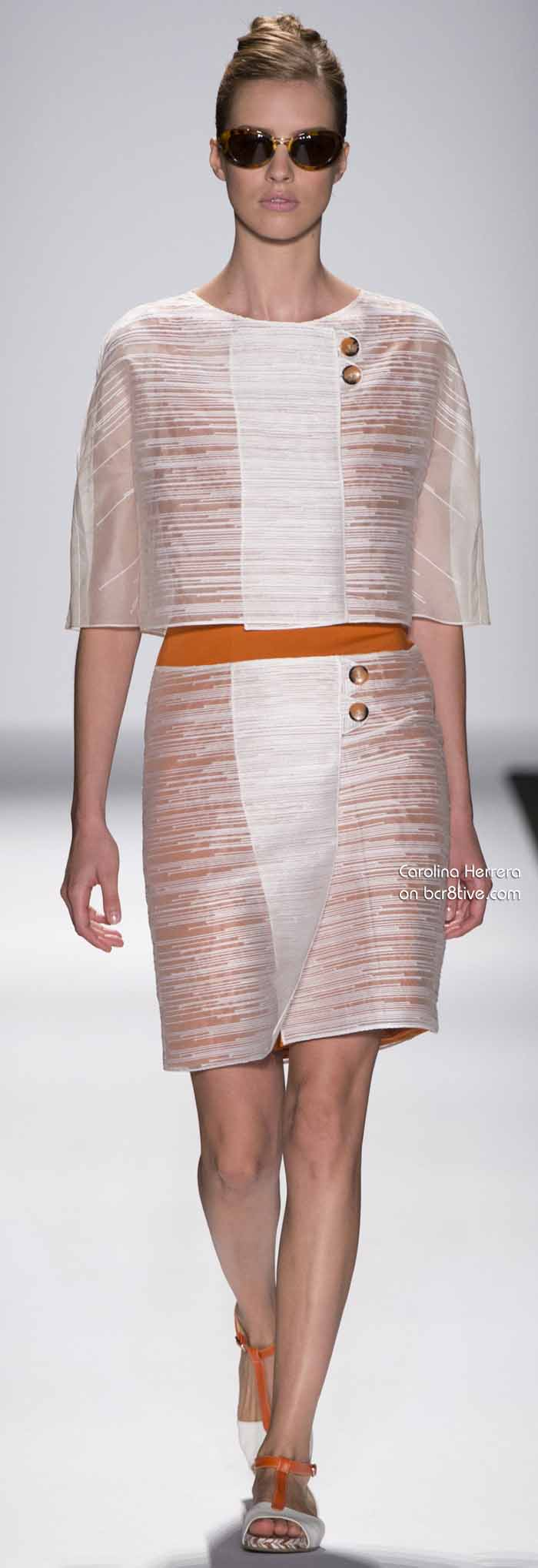 Carolina Herrera Spring 2014 #NYFW