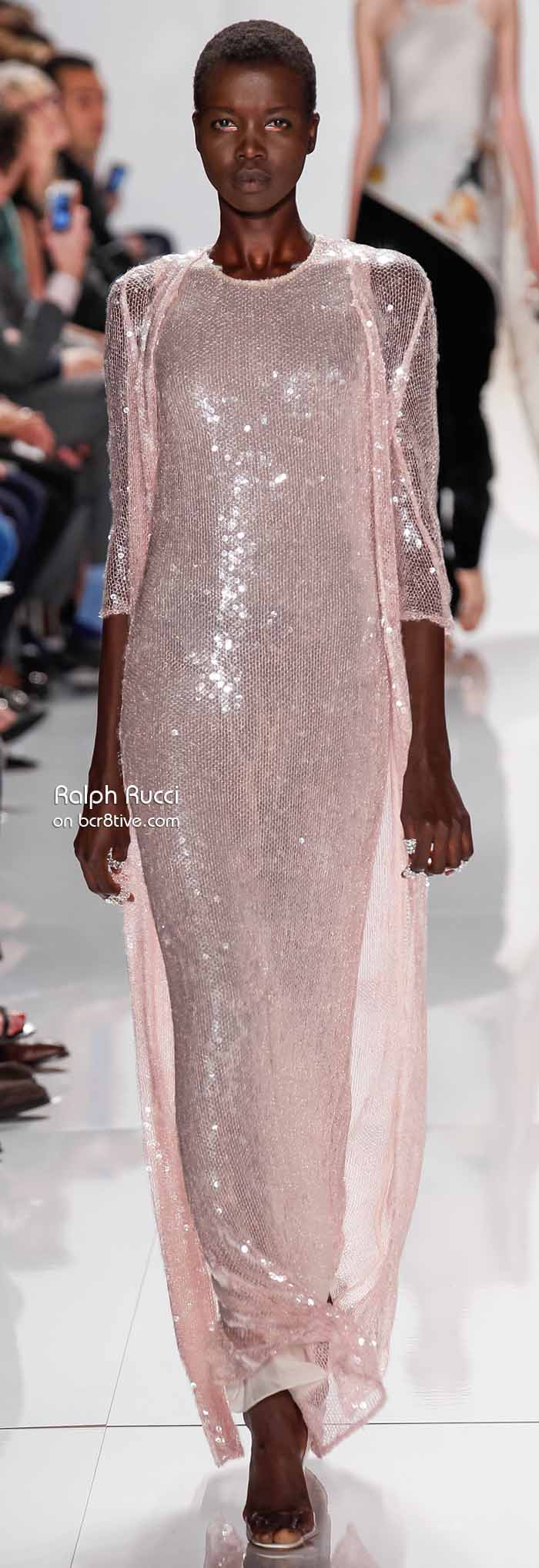 Ralph Rucci Spring 2014 #NYFW - Gown with Sequins