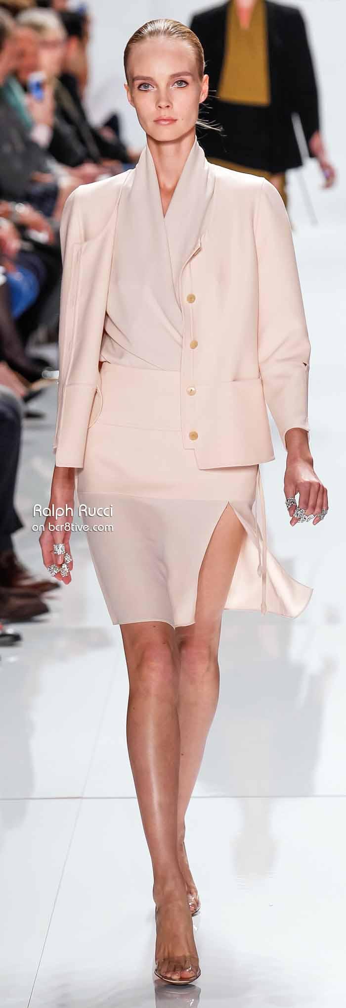 Ralph Rucci Spring 2014 #NYFW