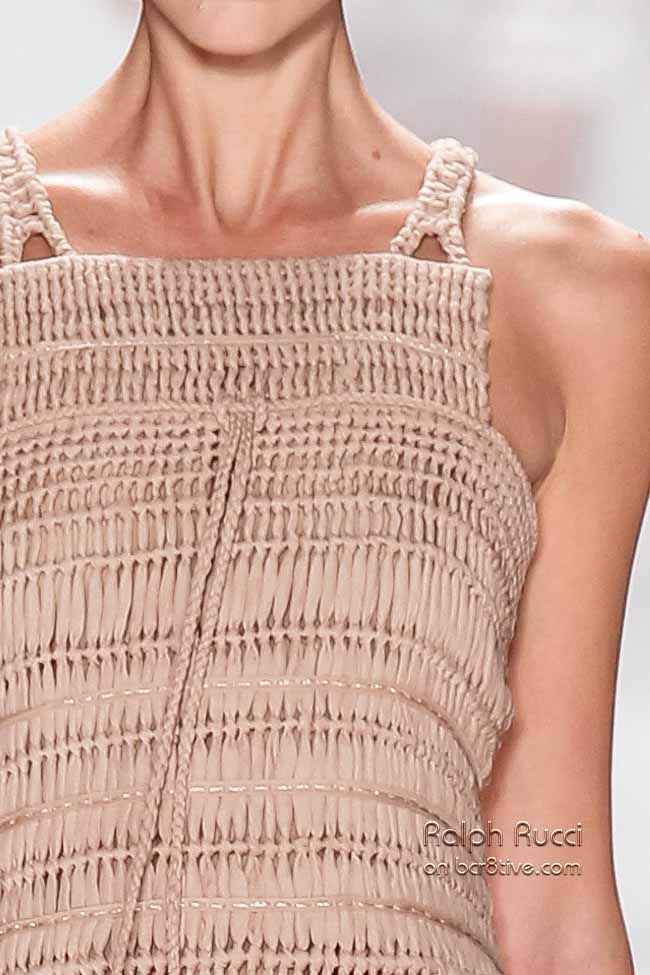 Ralph Rucci Spring 2014 #NYFW Details