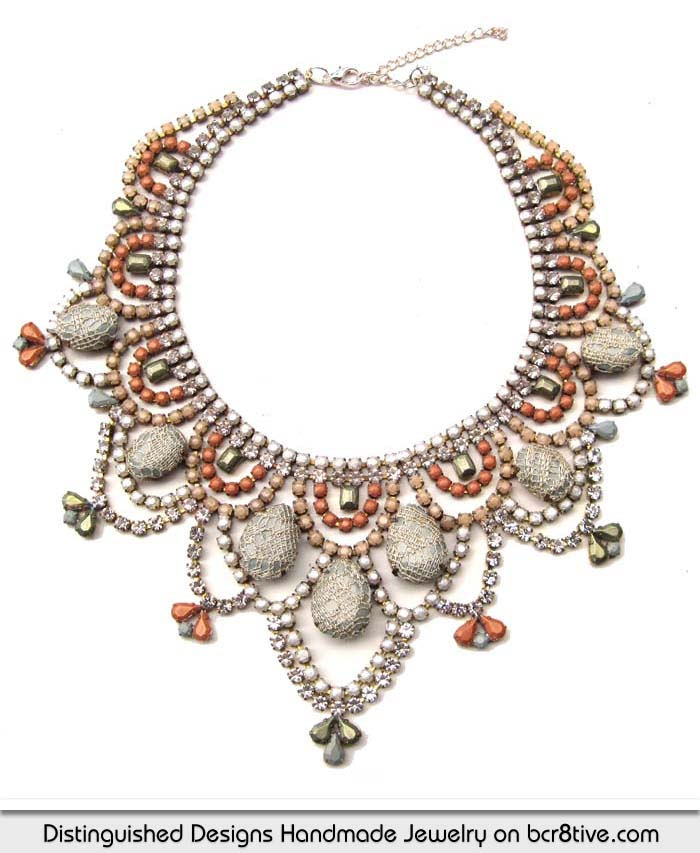 Distinguished Designs Handmade Statement Necklace